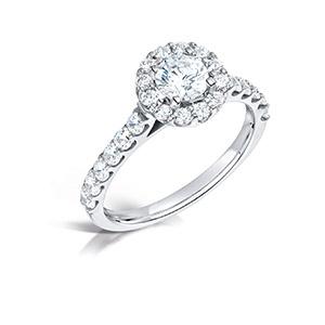 smal ring med diamanter